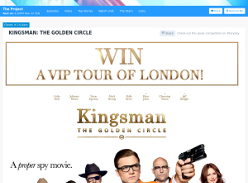 Win VIP Tour of London