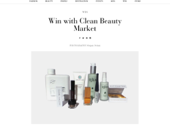 Win with Clean Beauty Market