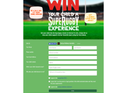 Win your child a SupeRugby Experience