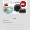 Win Your choice of a BodiSure Cushion Massager or Back Massager
