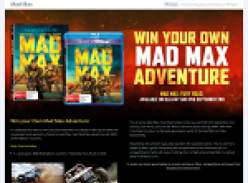 Win your own MAD MAX adventure!