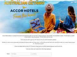 Win your Perfect Australian Getaway