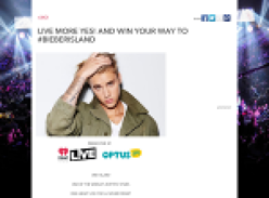 Win your way to #BIEBERISLAND!