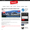 Win your way to the Fjords of Norway